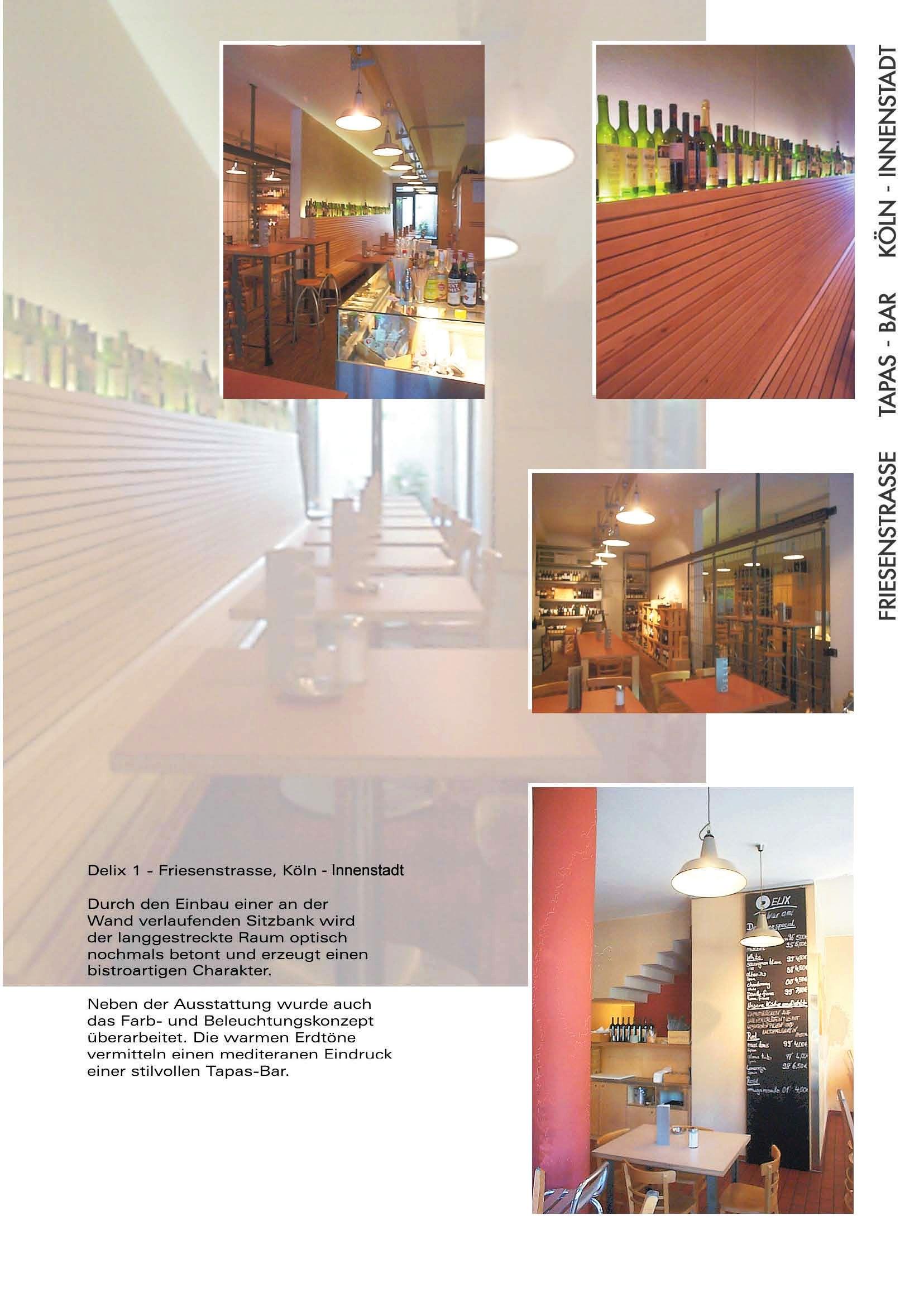 Prof. Ludger Bergrath – Architekt » Delix 1 / 2 / 3 – Coffee-Bar